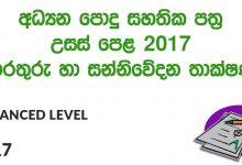 Advanced Level ICT 2017 Paper